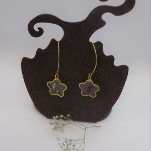 BOF22 - 25€ - Boucles d'Oreilles Fleurs