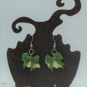 BOOn10 - 25€ - Boucle d'Oreille Origami nœud - Indisponible
