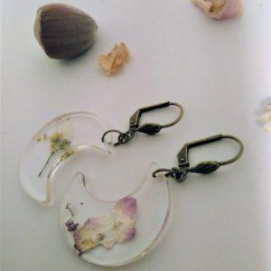 BOF33 - 20€ - Boucles d'Oreilles Fleurs
