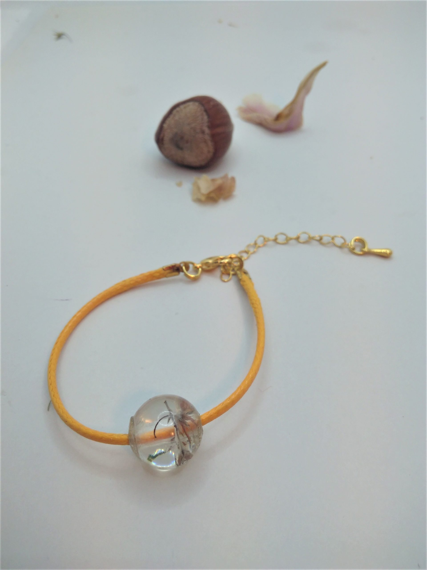 Bcf11 - 18€ - bracelet cube fleurs