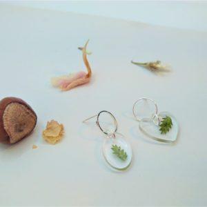 BOF36 - 20€ - Boucles d'Oreilles Fleurs - Indisponible